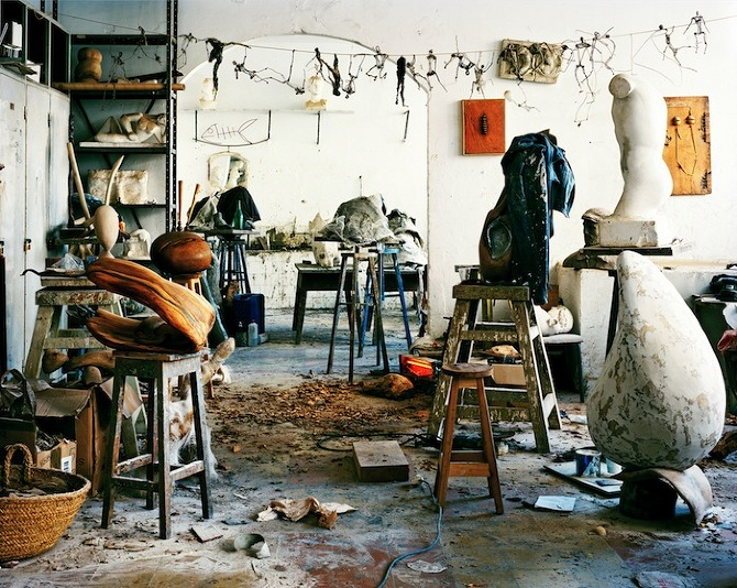 L.Hamill Sculpture I Tetouan Art in Progress by Leonora Hamill in THISISPAPER MAGAZINE