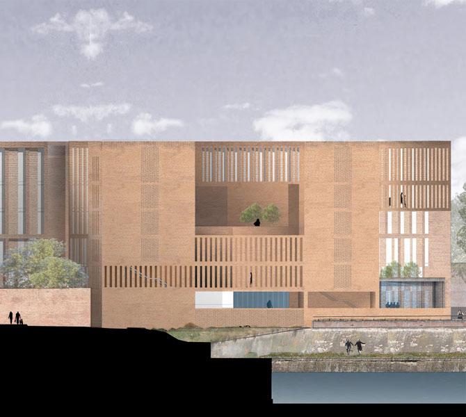 Universit toulouse 1 capitole grafton architects for Grafton architects