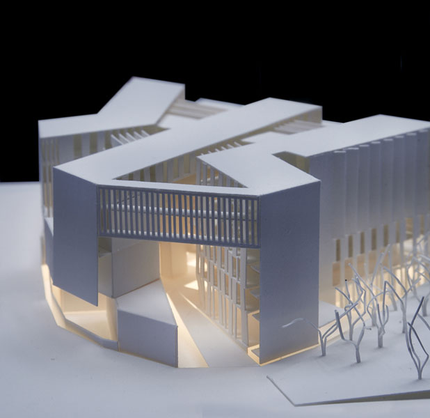Universit toulouse 1 capitole grafton architects for 3d house model maker