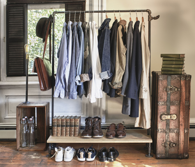 Readymadegoods - Clothing storage ideas for small spaces decoration ...