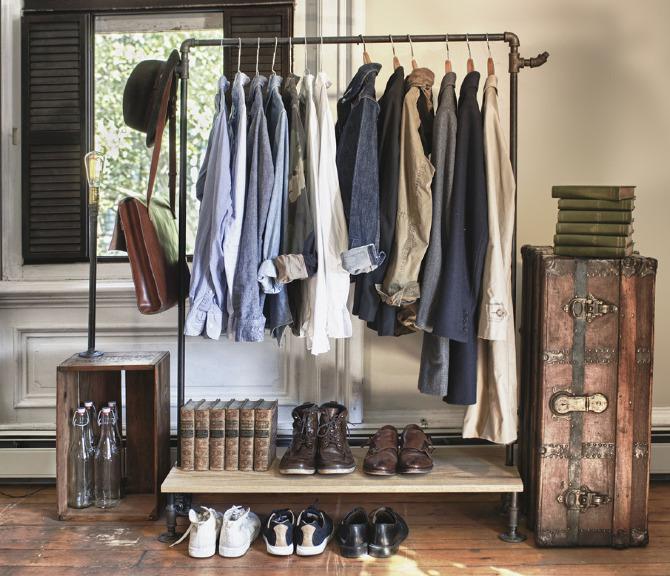 Image Result For Rolling Clothing Storage Racks